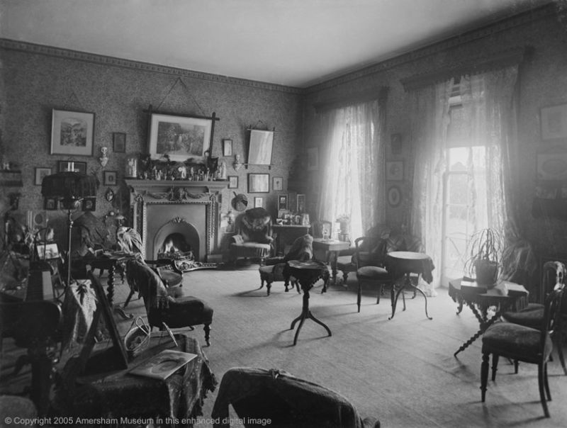 Photograph of the drawing room