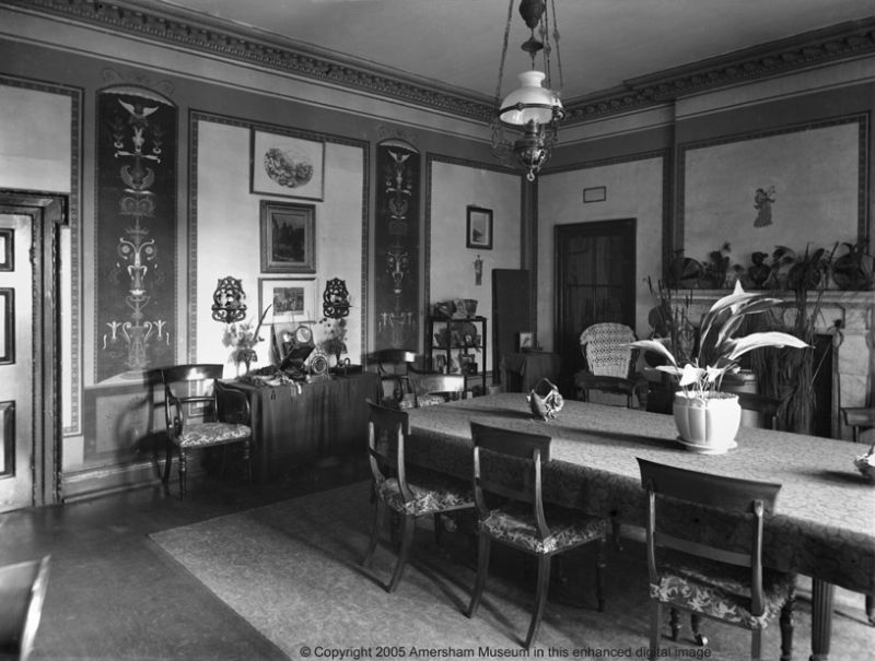 Photograph of the dining room